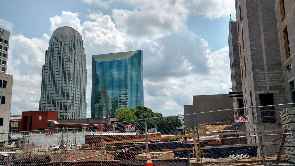 Winston Salem Developments Bailey Condo Shopping Center