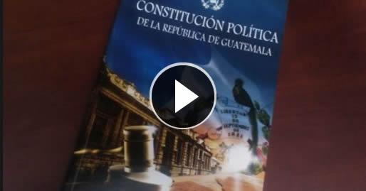 Propone reformar la constitución