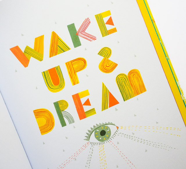 wake up and dream - creative pep talk