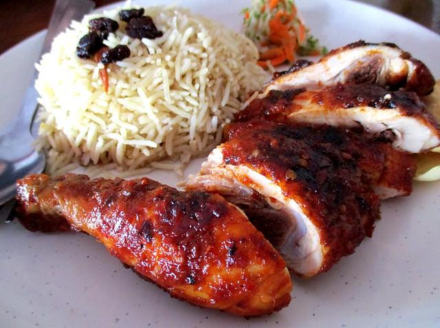 Nasi Arab ayam percik 2