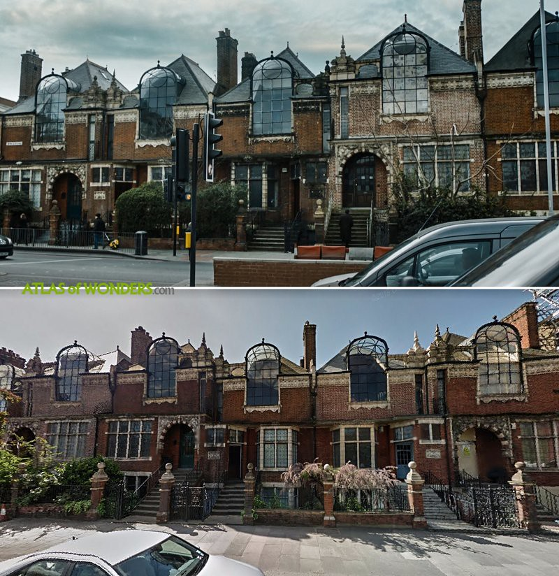 Cormoran Strike Houses