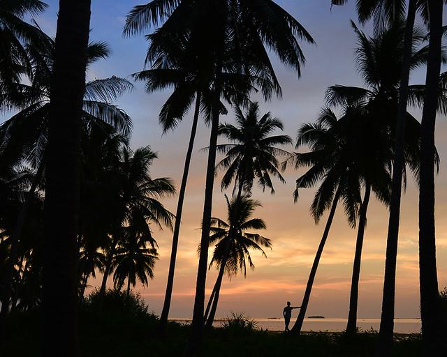 Atardecer en la isla de Bohol, una de las cosas más impresionantes que hacer en Filipinas