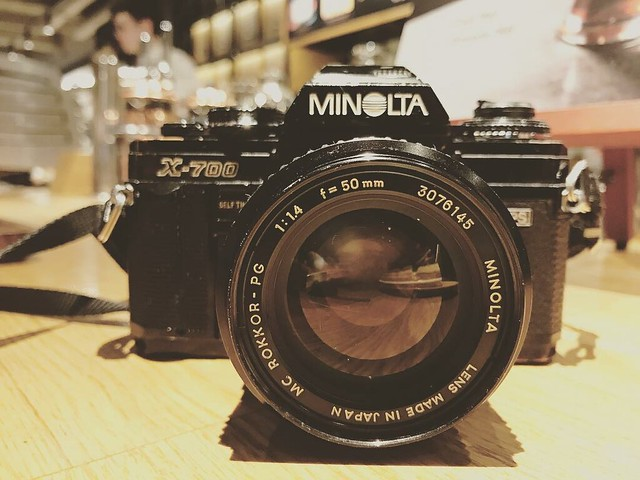 Minolta MC Rokkor PG 50mm f1.4 中古矇矓眼