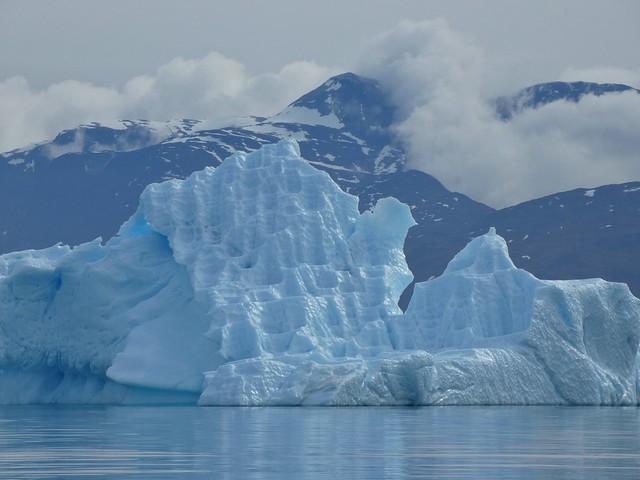Iceberg próximo a Narsaq (Sur de Groenlandia)