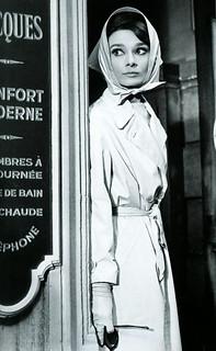 Trench Vintage Audrey Hepburn