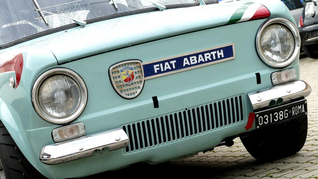 Bekend Fiat 850 Abarth   Tobias Hartmann   Flickr GZ53