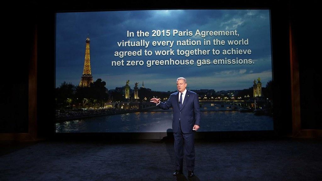 《巴黎協定》原被視為氣候支持派的勝利,沒想到川普當選美國總統又讓局勢風雲變色。(圖片來源:UIP Taiwan)