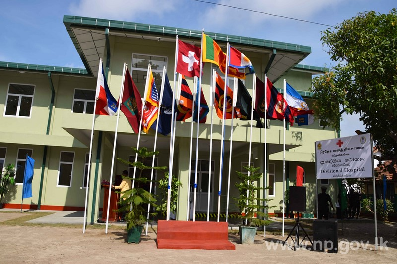 Army Assistance to Upgrade Health Facilities in Jaffna Peninsula