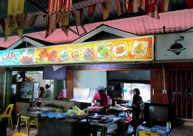 Food stall, Dewan MUC