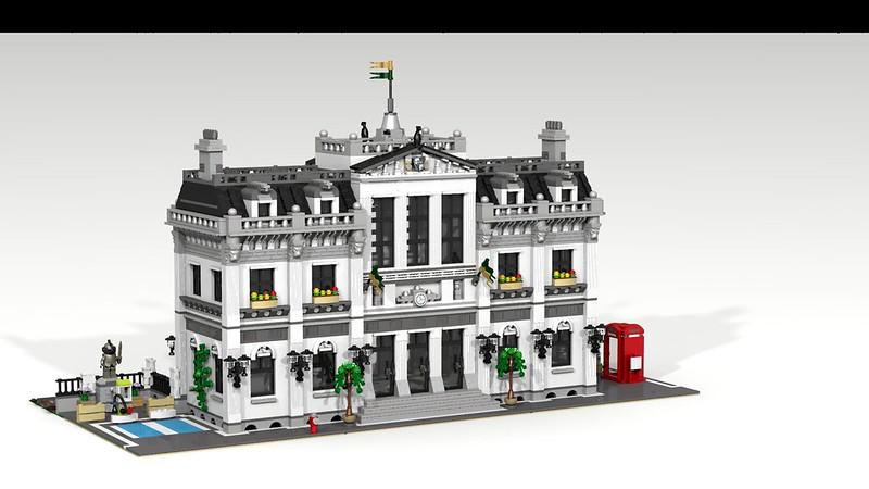 Lego Digital Designer Modular Buildings