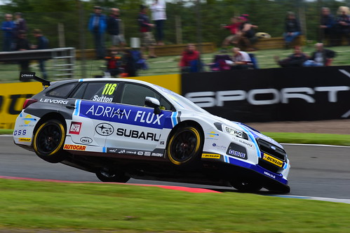 Ashley Sutton, Subaru Levorg, British Touring Car Championship, Knockhill 2017