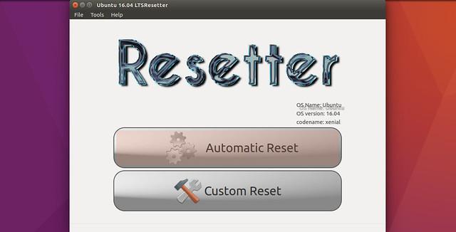 Resetter