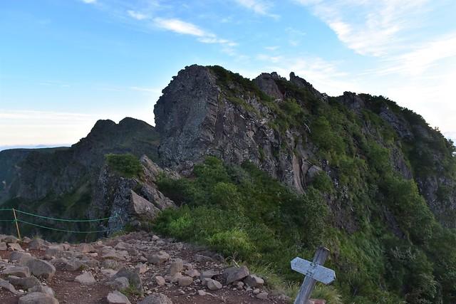 八ヶ岳登山 赤岳~横岳の稜線