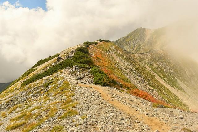 立山縦走 紅葉登山
