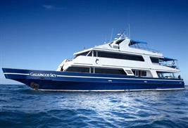 Barco de buceo Galapagos