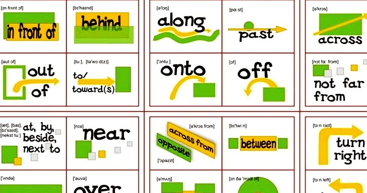 Prepositions of Place & Movement in English 5