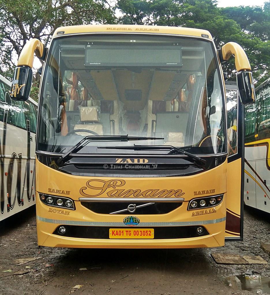 National Travels Sanam Volvo B11r Bus Tejas Chaudhari Flickr