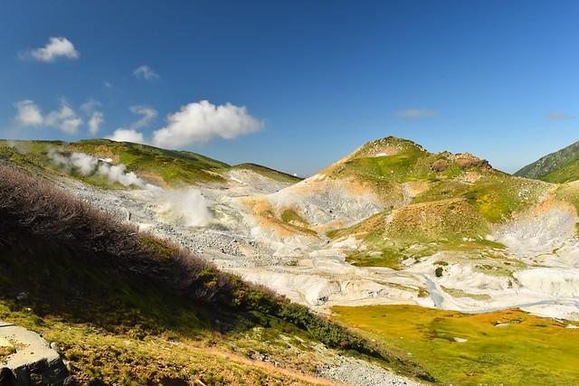 立山室堂・地獄谷