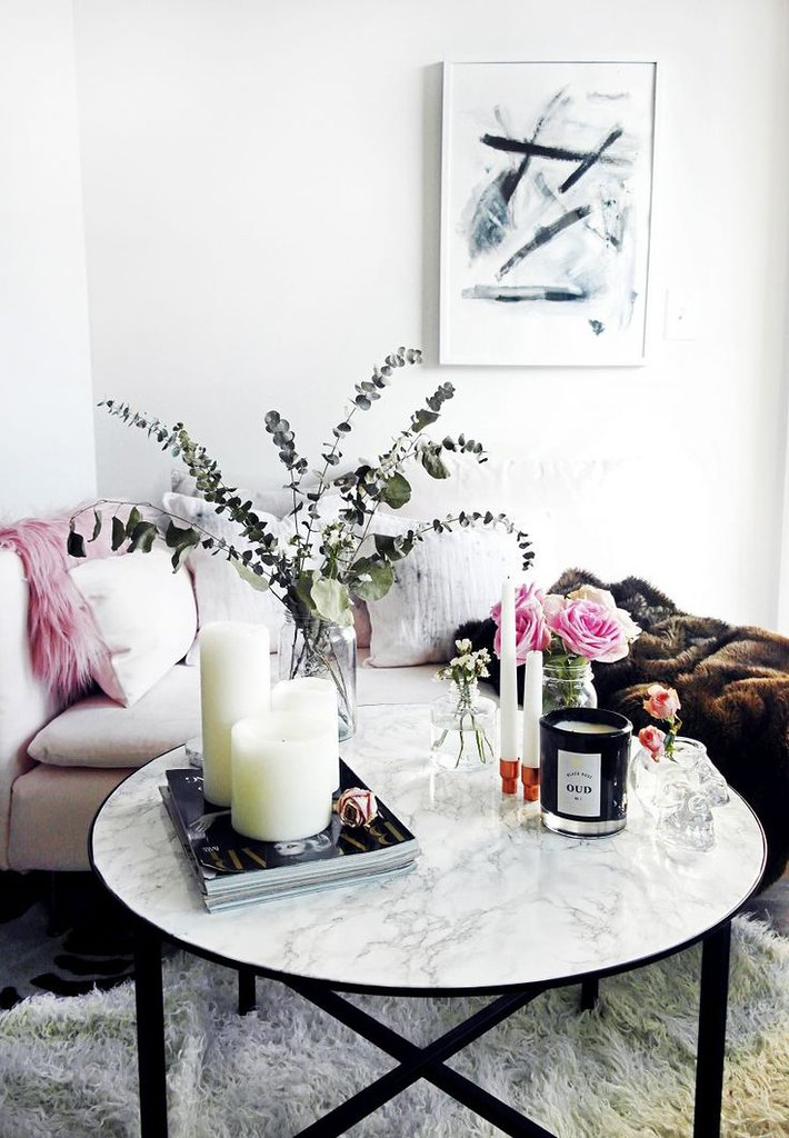 ... Diy Home : DIY Marble Coffee Table With Contact Paper || Katherine  Vou0026#39