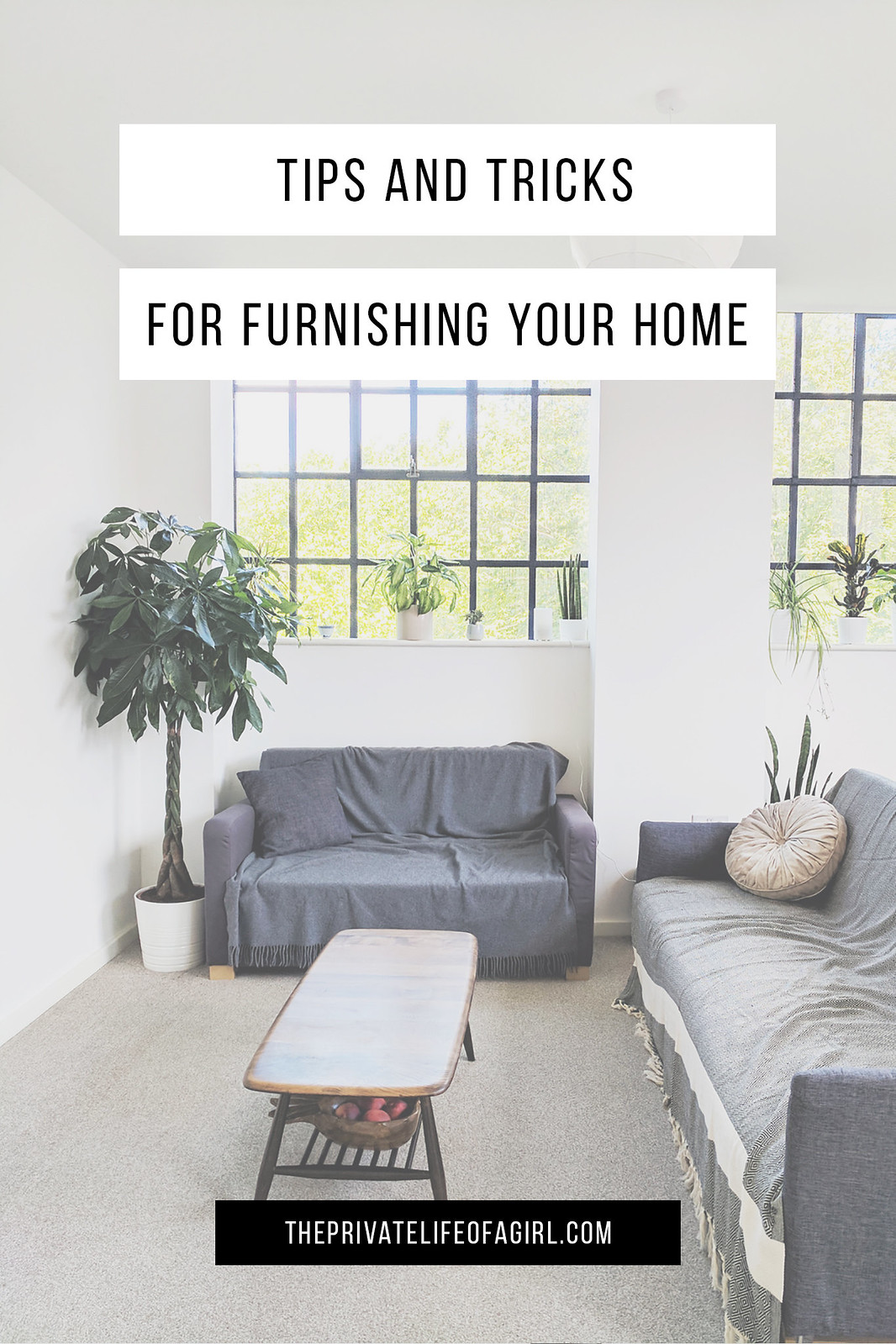 Furnishing A New Home