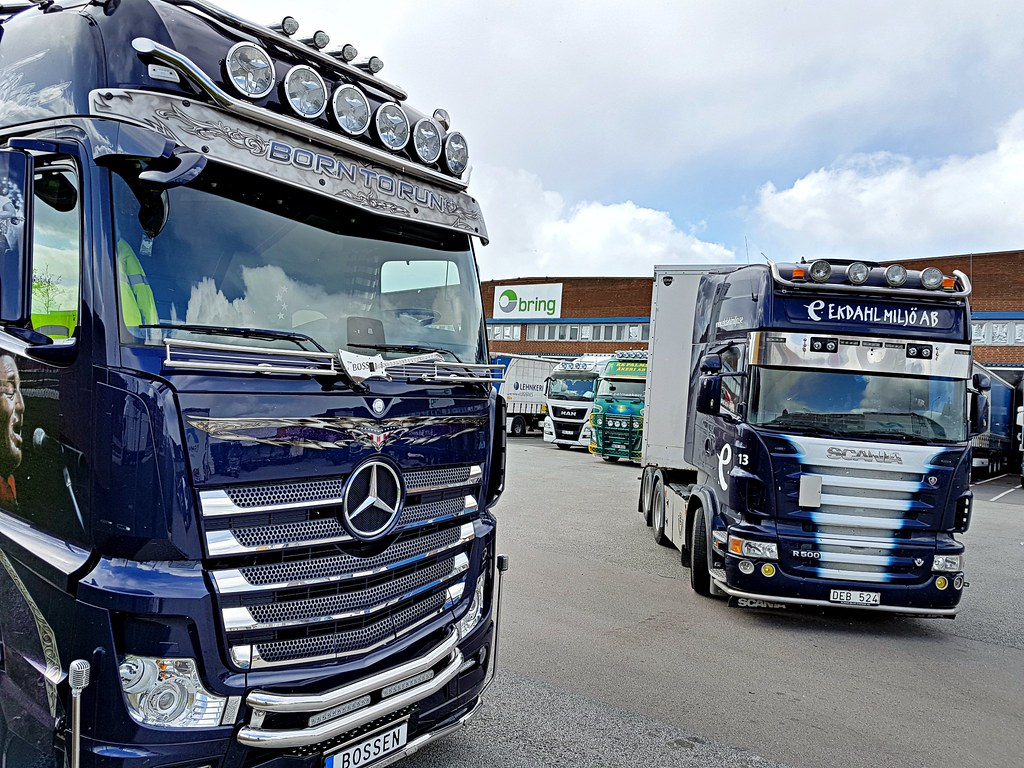 ... Mercedes Actros 2551 (The Boss: Bruce Springsteen) - Ekdahl Miljö AB |  by
