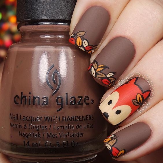 @nailsbycambria Amazing nail designs to try this fall