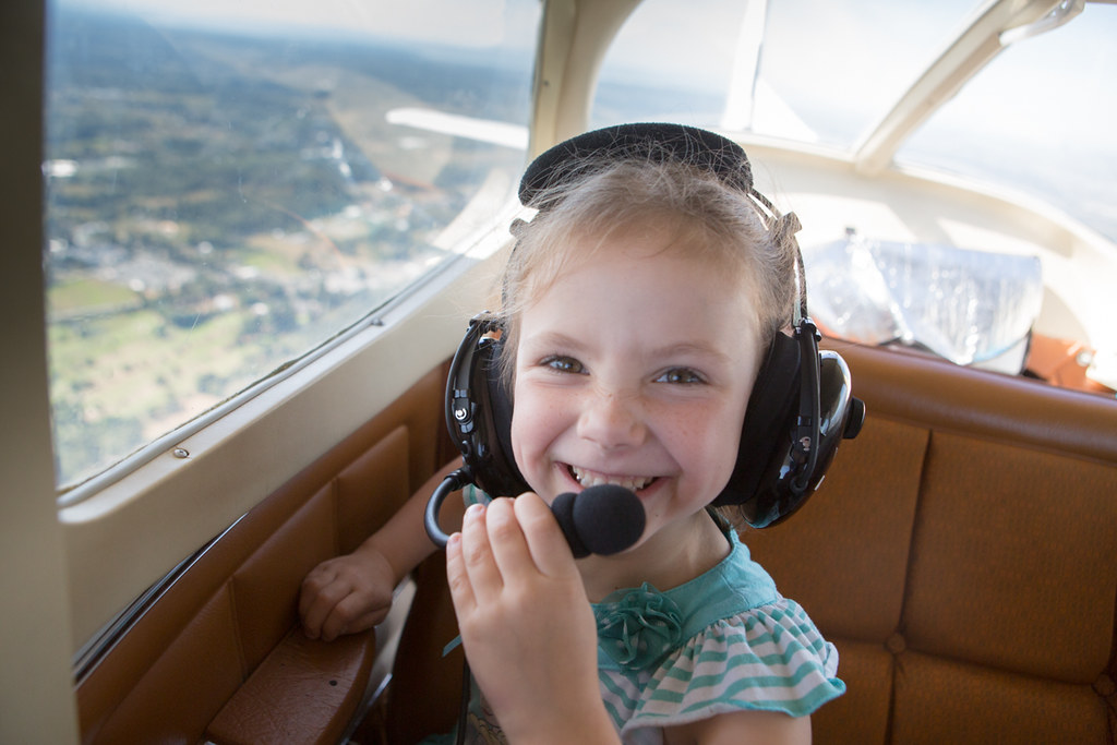 Flying in the Cessna 172