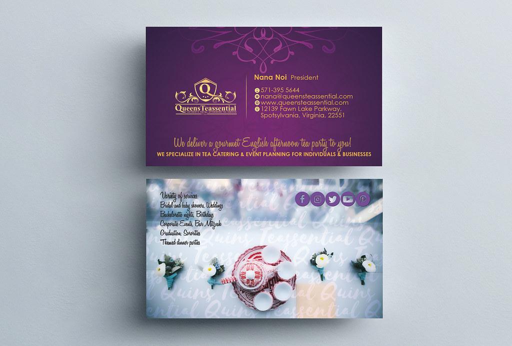 Business Card Design Infinium Tech Flickr