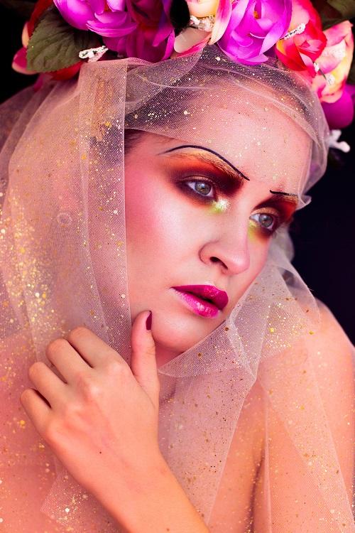 Pauuulette Halloween Makeup Melancholia