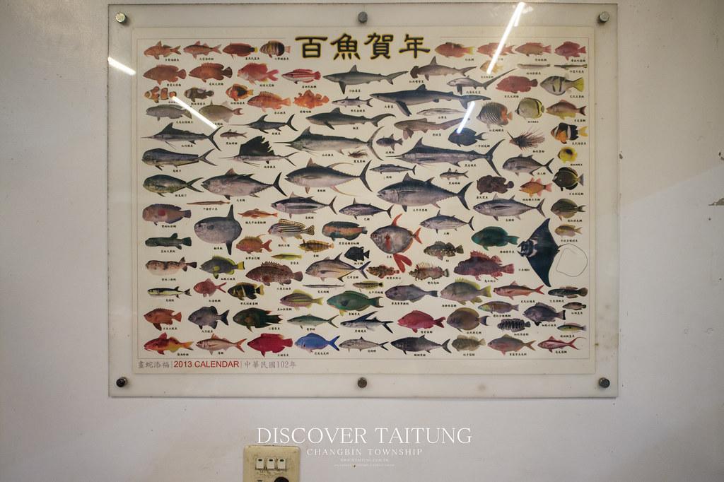 長濱邱爸爸海味-東海岸漁獲圖