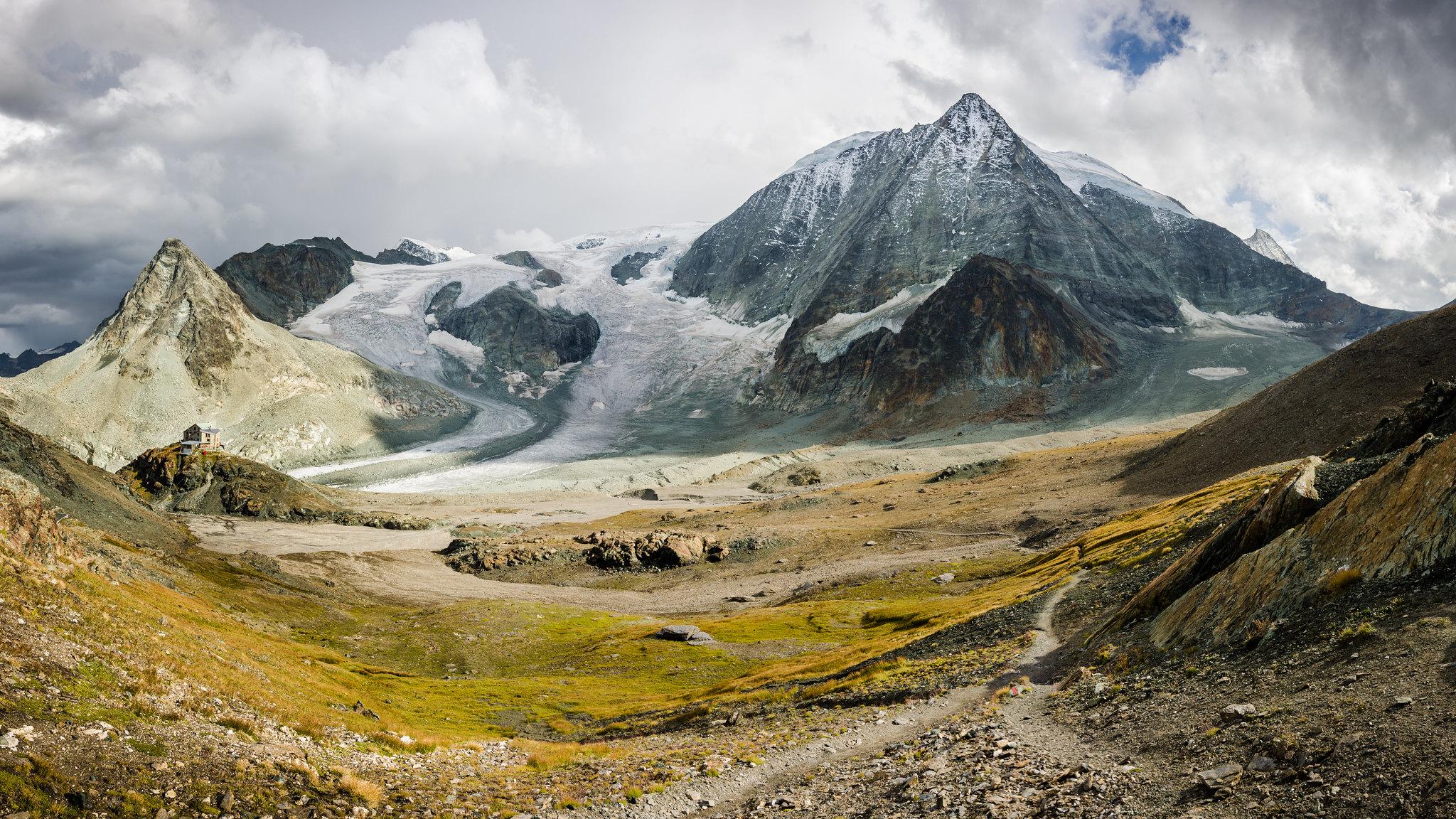 Cabane Des Dix And Mont Blanc De Cheilon Hérémence Vs Oc