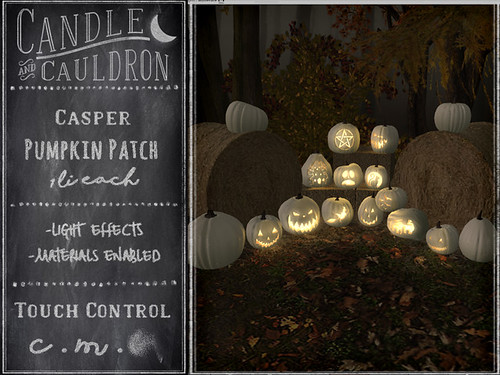 {C&C} Casper Pumpkin Patch | by November Nighthearth