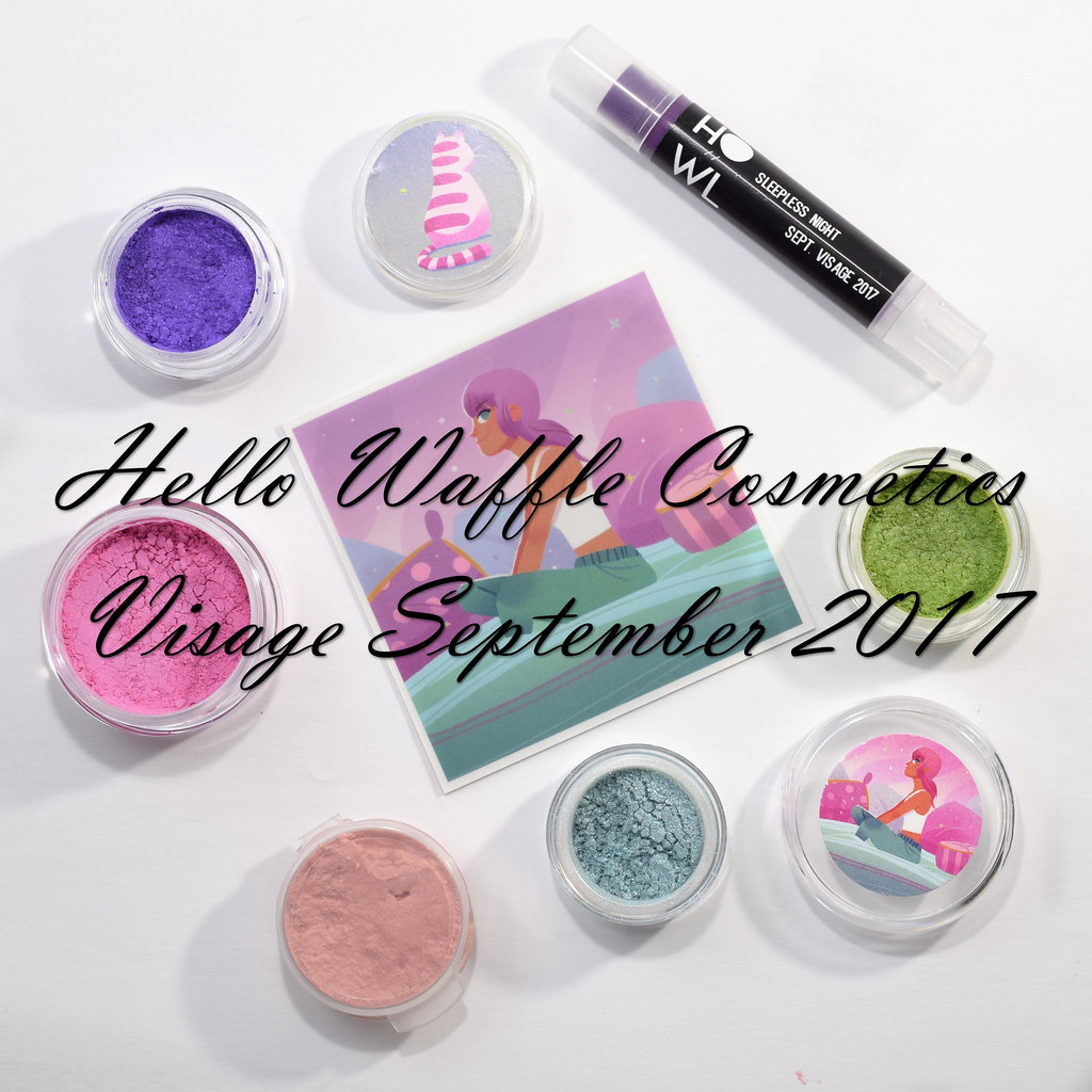 Hello Waffle Visage September 2017 swatch review