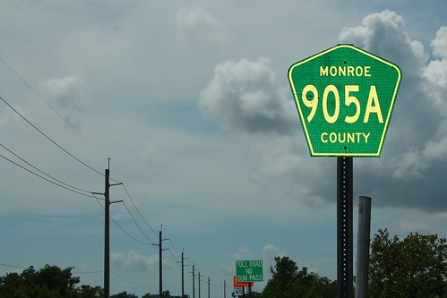 Monroe CR 905A - Green Reflectivity | by formulanone
