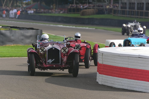 Niklas Halusa, Alfa Romeo 8C 2300MM, Brooklands Trophy, Goodwood Revival 2017