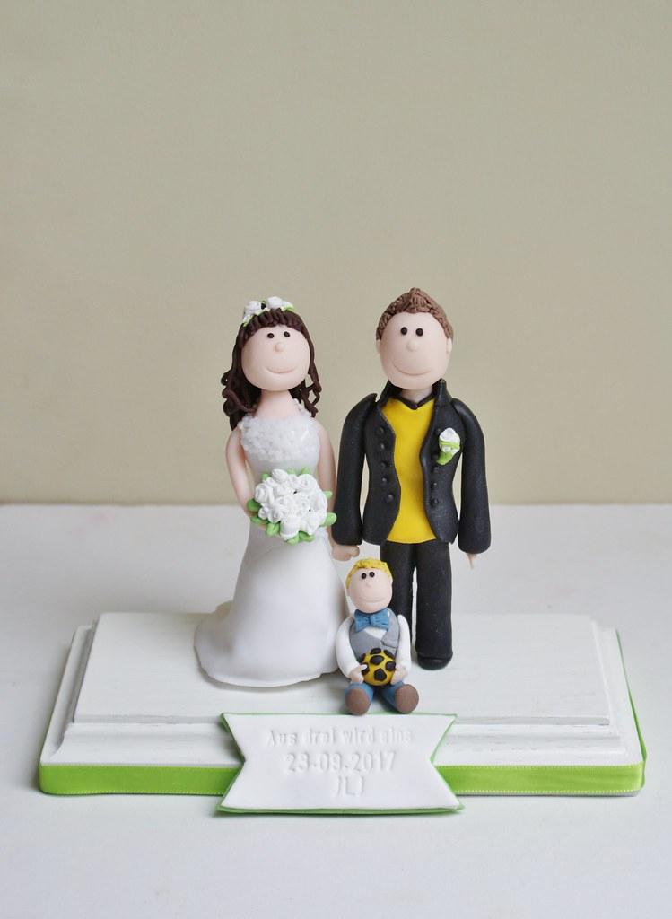 Hochzeitstorte Cake Topper Wedding Tortenfigur Tortend Flickr