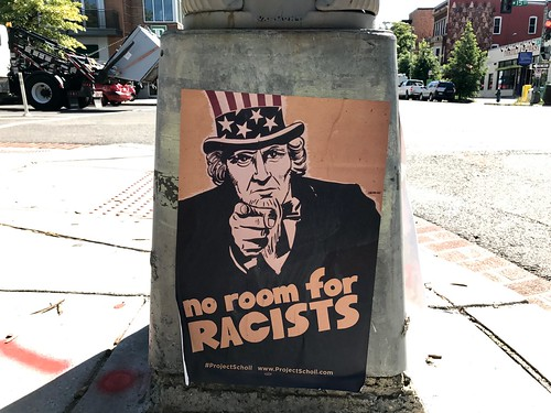 No room for racists | by Joe in DC