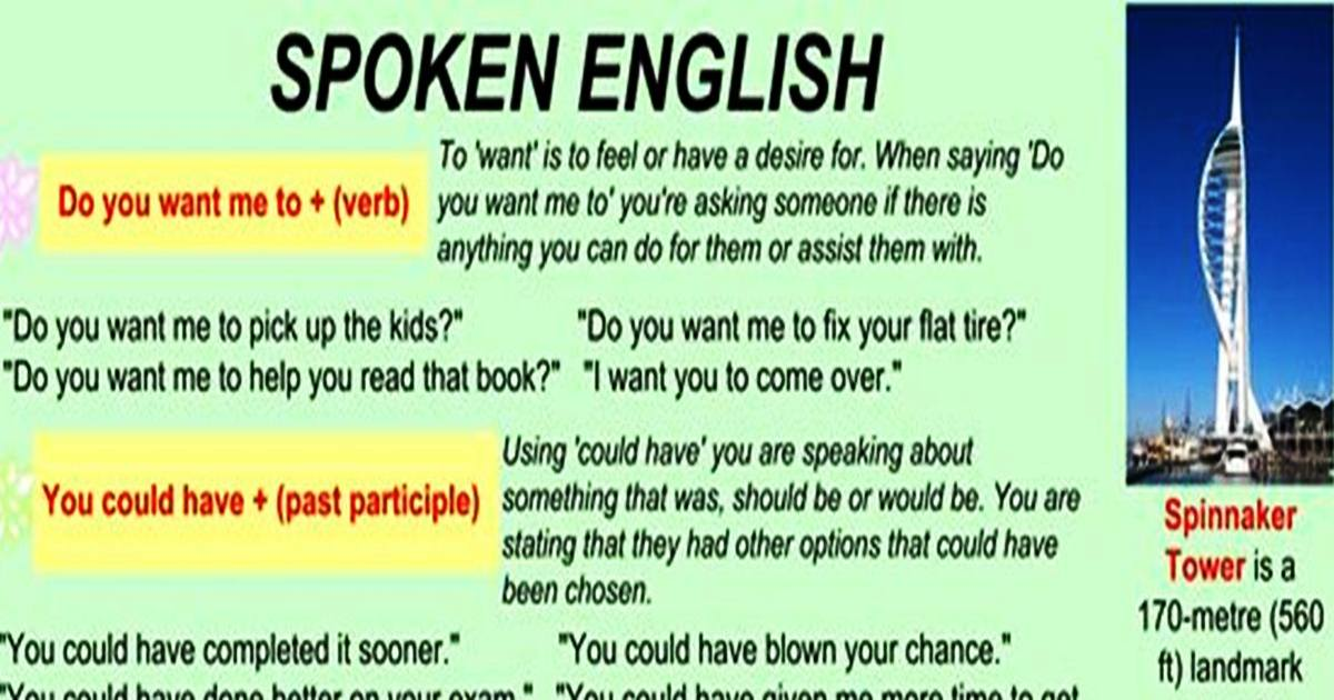 Useful Expressions for Your Spoken English 5