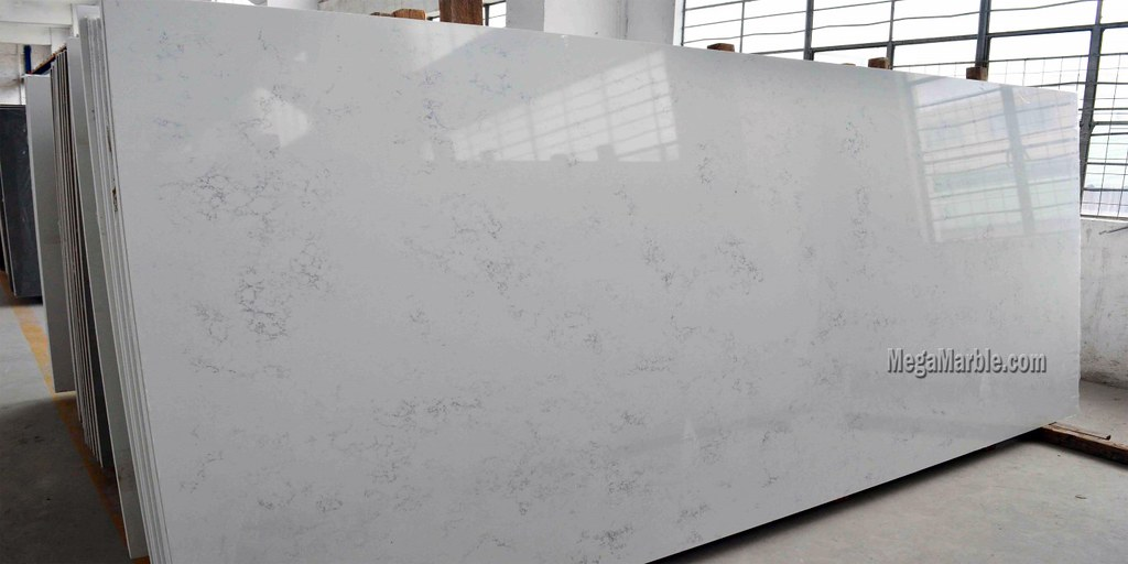 quartz countertops that look like carrara marble 3 flickr. Black Bedroom Furniture Sets. Home Design Ideas