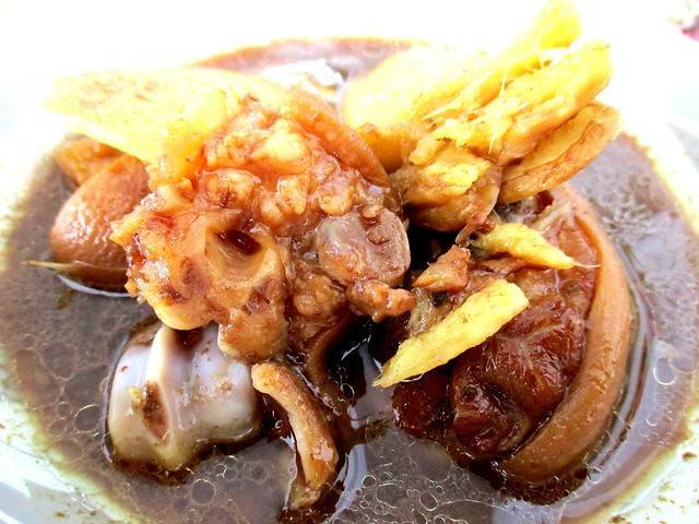 Kopitiam Fantasy black vinegar pork leg rice 2