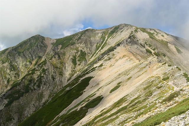 北アルプス立山・別山