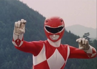 Mighty_Morphin_Red_Ranger_Pose | by DReager100