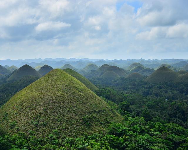 Chocolate Hills, unas de las maravillas que ver en Filipinas más alucinantes