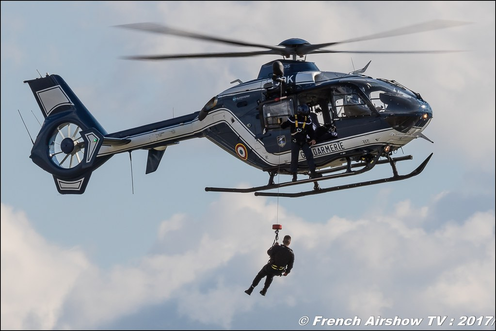 Eurocopter EC-135 France - Gendarmerie , Meeting aérien contre le cancer , Free Flight World Masters Rodez-Aveyron , FFWM2017 , Meeting Aerien 2017