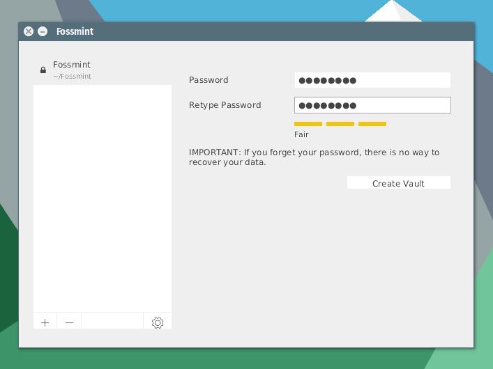 Set-Cryptomator-Vault-Password