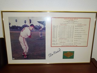Signed Stan Musial picture | by thornhill3