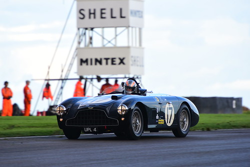 Rob Hall, Aston Martin DB3, Freddie March Memorial Trophy, Goodwood Revival 2017