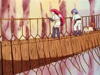 team rocket on bridge