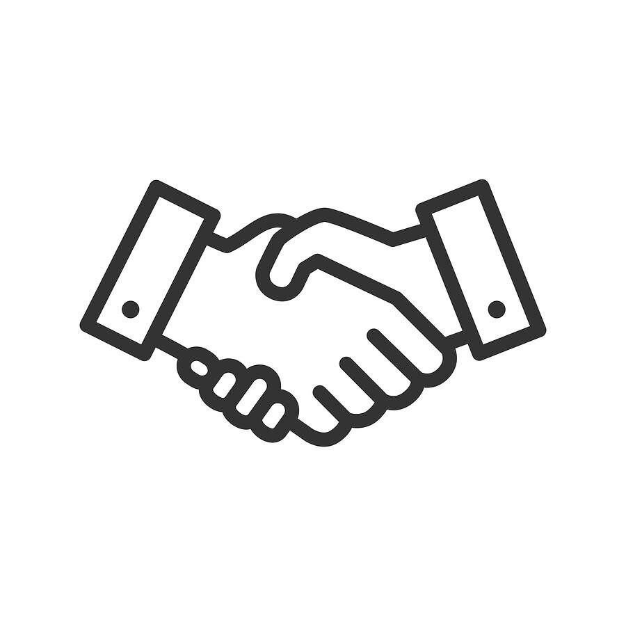rs232 handshaking lines handshake icon isolated on a white flickr