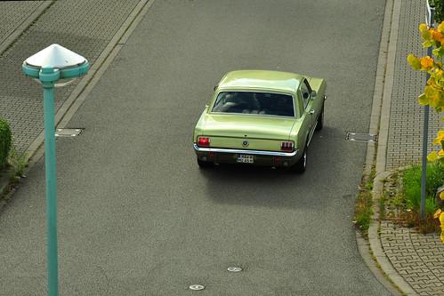 Oldtimer Ford Mustang 1965 ... Mannheim ... Foto: Brigitte Stolle 2017